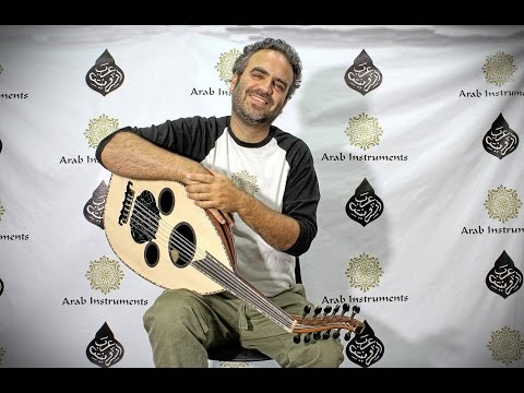 Arabic Electric Acoustic Oud - Shike Sattle