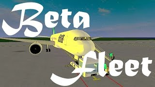 ROBLOX | Beta Fleet Boeing 777-200 Inaugural Flight