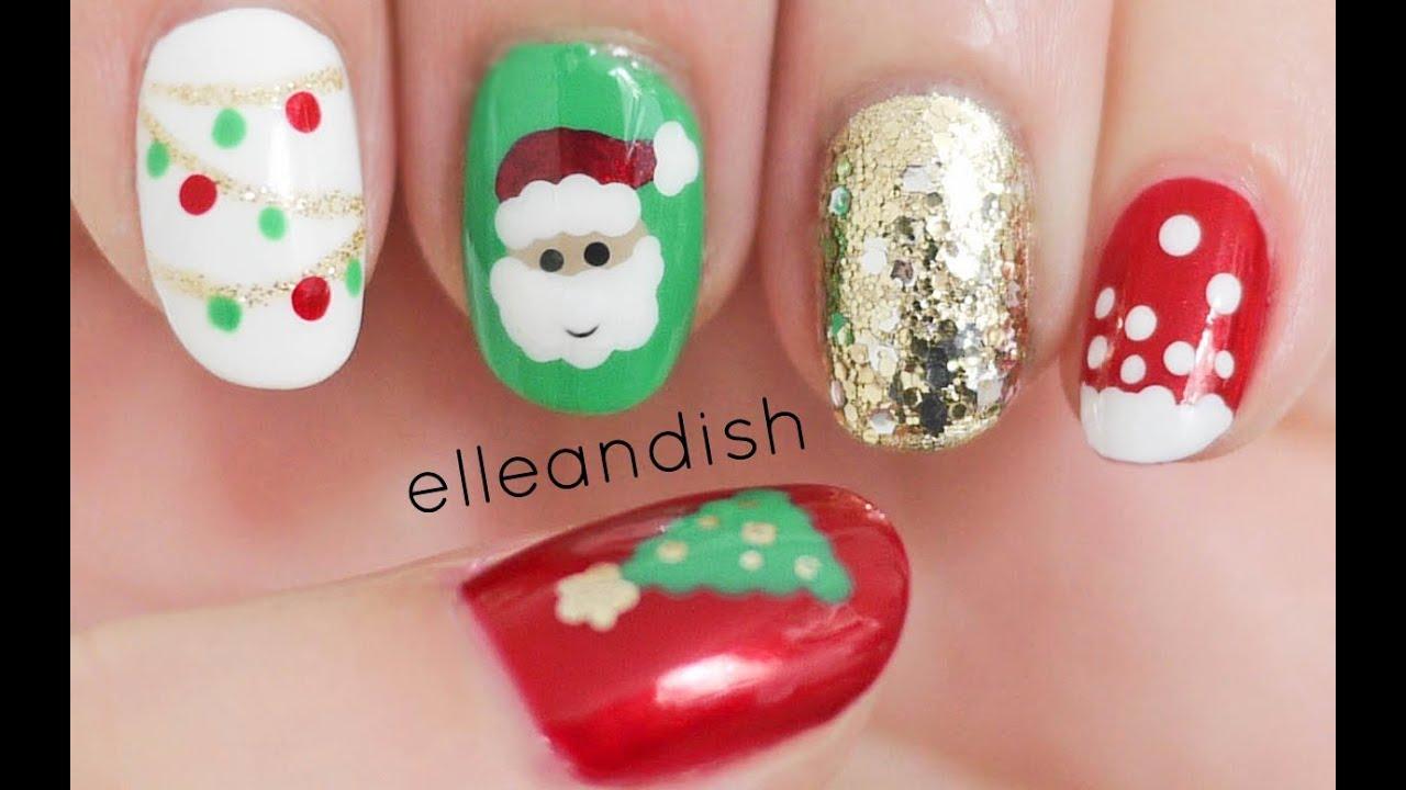 Diy Christmas Nails