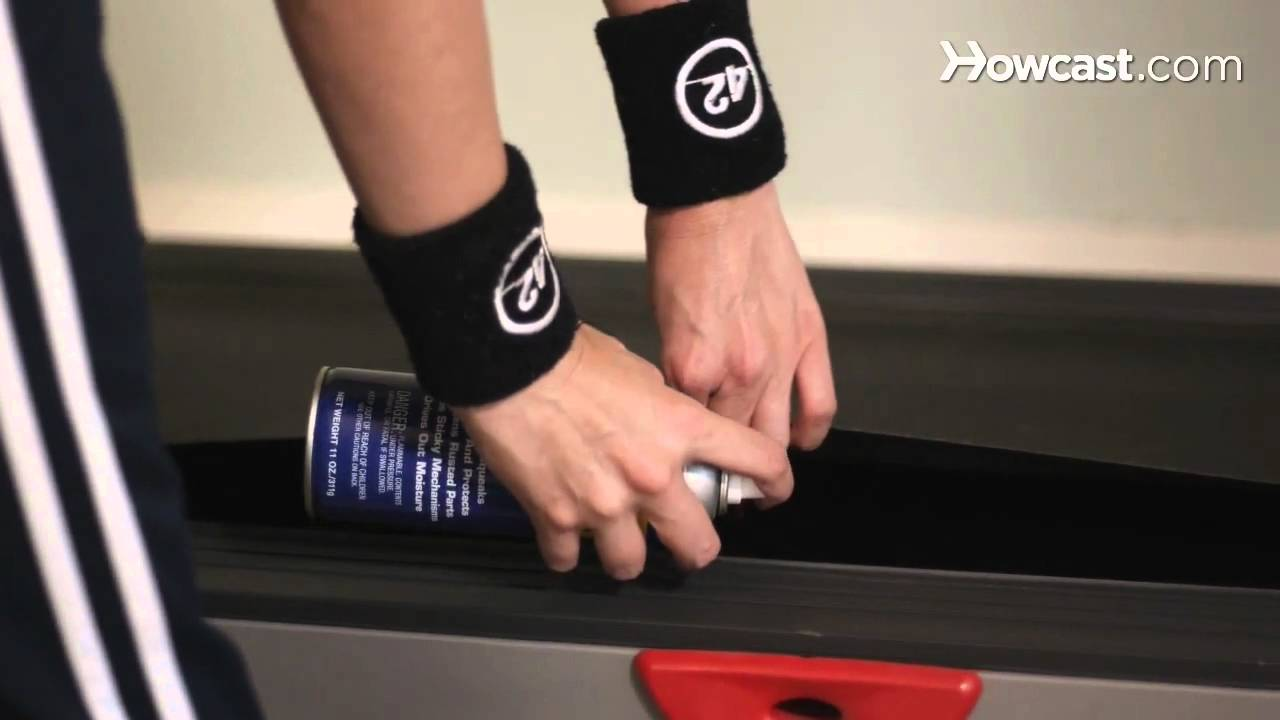 How To Lubricate A Treadmill Youtube