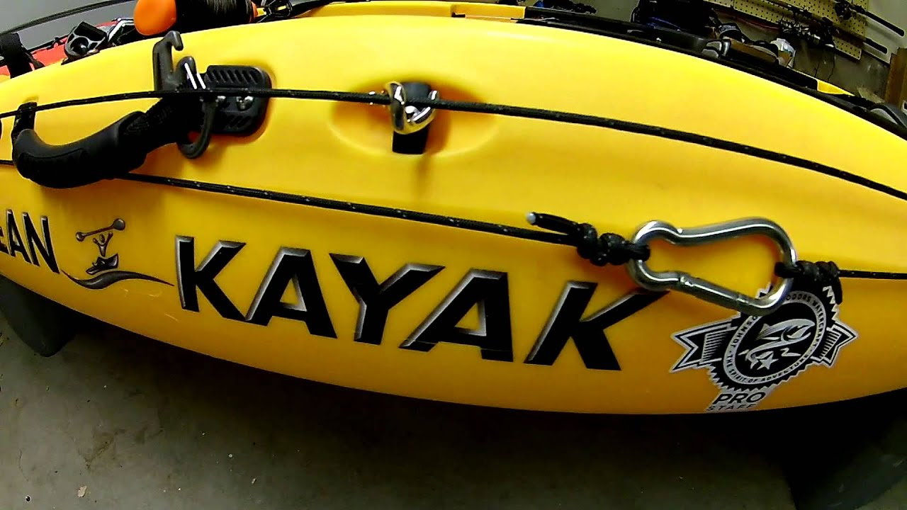 Diy No Drill Kayak Anchor Trolley Youtube