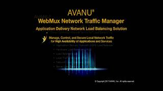 Application Delivery Network Load Balancing - Introduction to AVANU WebMux