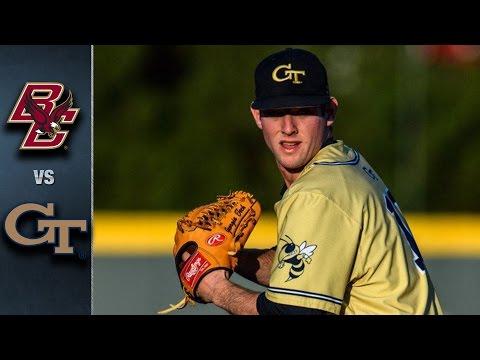 Boston College vs. Georgia Tech Baseball Highlights (May 19, 2016)