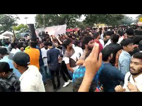 Open street festival dance in Mysore