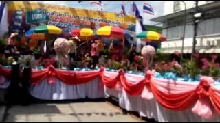 Songkran (pesta air) Betong Thailand