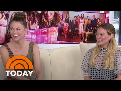 Hillary Duff And Sutton Foster Talk About...
