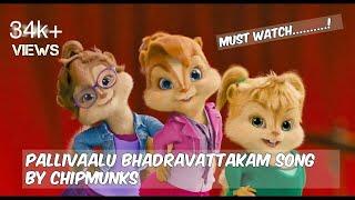 Be Free Pallivaalu Bhadravattakam song by chipmunks| VAMSHIMANCHE|