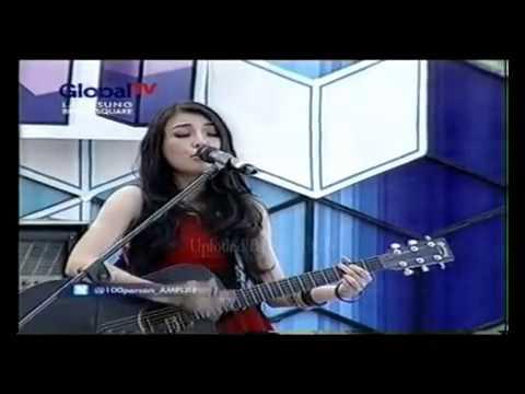 Arin Wolayan - Kau Berubah Perform at 100% Ampuh Global TV