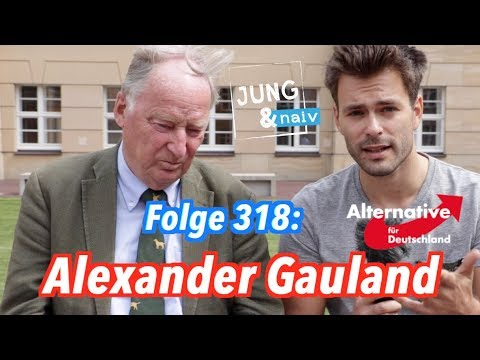 Alexander Gauland, Spitzenkandidat der AfD - Jung & Naiv: Folge 318