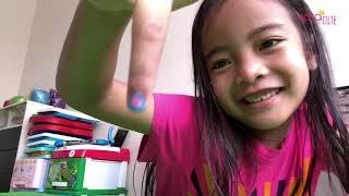 Zara Cute menghias Kuku dengan Bolpen untuk Kuku ? Nail Art ala ala