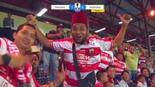 MADURA UNITED VS SRIWIJAYA - FT Kratingdaeng Piala Indonesia