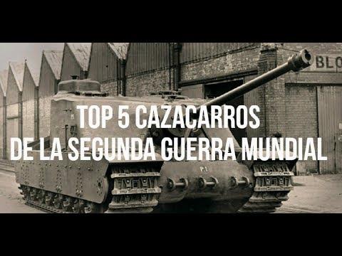 Los Mejores Destructores de Tanques Durante la II Guerra Mundial