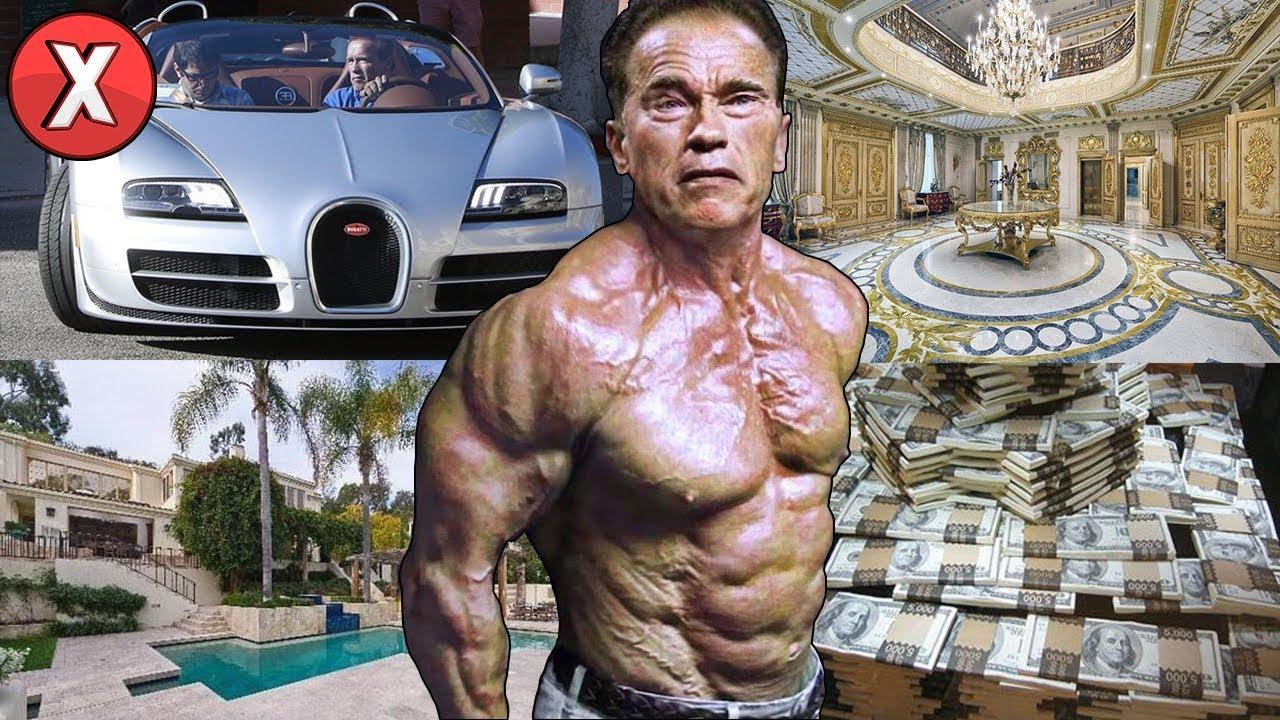 Esta é a vida do milionário Arnold Schwarzenegger (O Exterminador do Futuro)