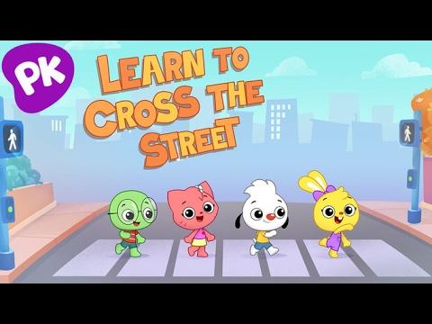 Crossing the Street | I Love to Learn: Music for Kids, Preschool Songs, Kids Songs, Nursery Rhymes