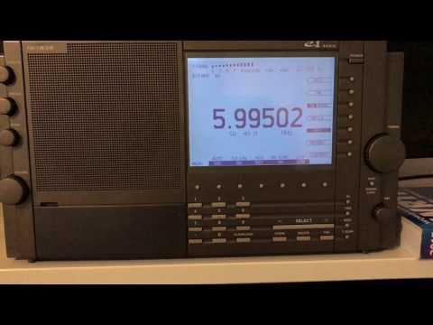 Eton E1: Radio Mali 5995 kHz, with improved modulation