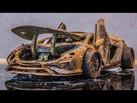 Lamborghini SIAN – Restoration Damaged model car