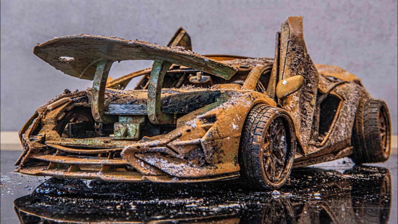Download Lamborghini SIAN - Restoration Damaged model car