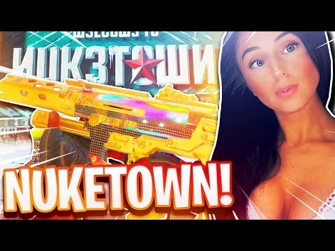 *NEW* NUKETOWN IN COD BLACK OPS 4 RIGHT NOW! TRYHARD GIRL MASTER PRESTIGE PLAYER!!!
