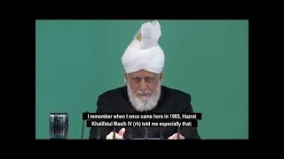 This Week with Hazrat Mirza Masroor Ahmad - 12 April 2019