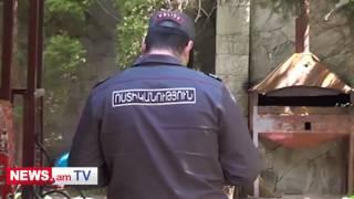 Կադրեր «Ճաճոյի Էդոյի» որդու սպանության վայրից  ձերբակալվել է սպանվածի կինը