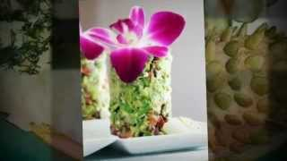 Как украсить салат. Примеры украшения салатов