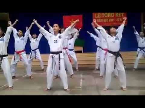 TAEKWONDO Dòng máu lạc hồng (Trường THCS Phú Mỹ)