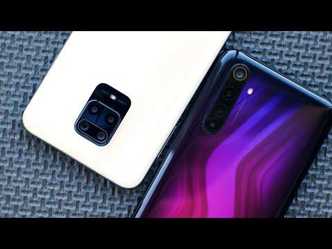 Сравнение камер Realme 6 PRO vs Redmi NOTE 9 PRO