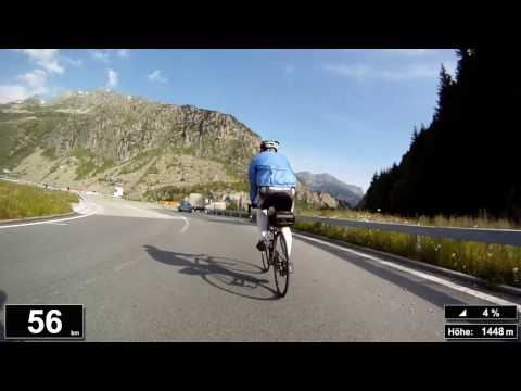 Indoor Cycling Training: Sustenpass (Suisse / Alps) - in full length!!! (Part 1/4)