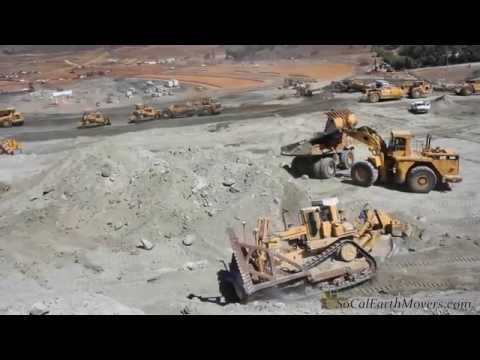 Organized earth moving madness