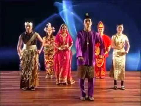 Malaysian Zapin Dance