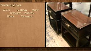 All Furniture Services® Professional Wood And Furniture Repair, Restoration & Refinishing Company