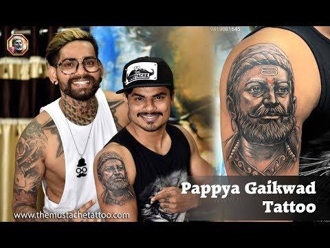 chatrapati-shivaji-maharaj-tattoo-|-pappya-gaikwad-new-tattoo-|-tattoo-artist---mahesh-chavan