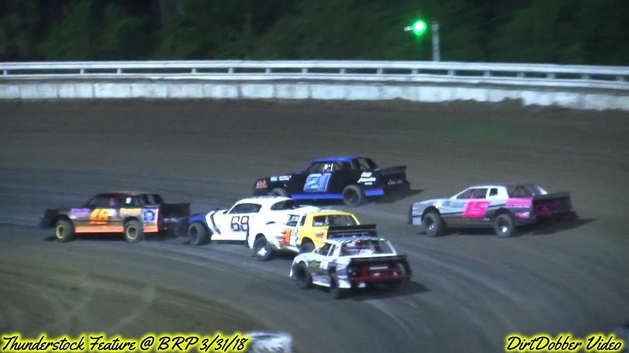 Bubba Raceway Park >> Bubba Raceway Park Thunderstock Feature 3/31/18 - YouTube