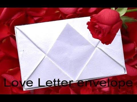 love letter envelope kham design