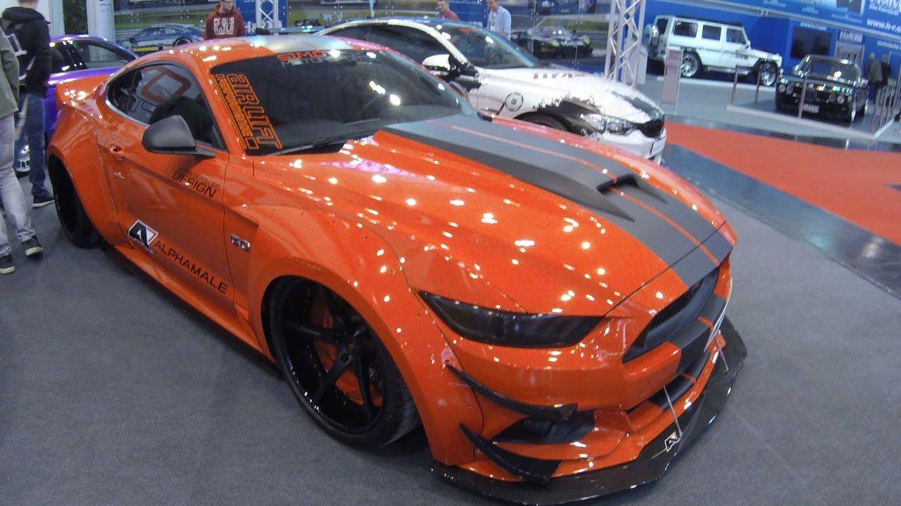 4 Doors Mustang  U0026     2018 Magnetic Metallic Ford Mustang