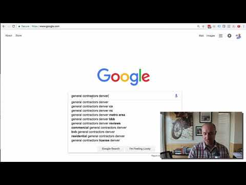 Best SEO Keywords for General Contractors and Construction