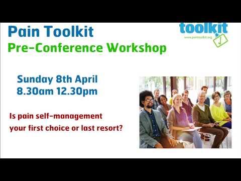 Pain Toolkit Workshop Sunday 8th April Sydney, Australia