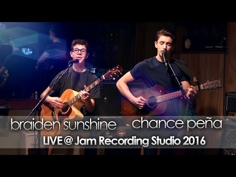 Braiden Sunshine & Chance Peña Live @ Jam Recording Studio