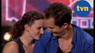 Miłość na scenie! Para Julian i Marysia rozkochali w sobie jury [Mam Talent]
