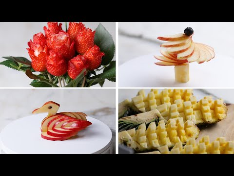 4 Amazing Ways to Cut Fruit
