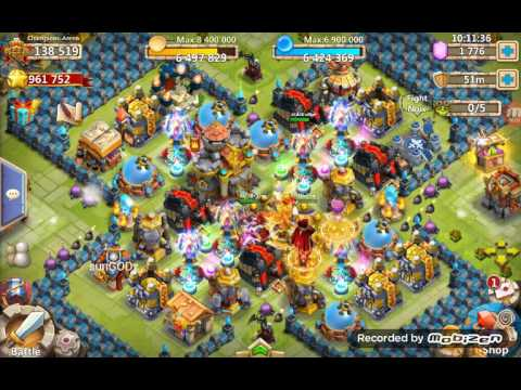 Castle Clash : Evolving Death Knight, Getting Books, Sweep Dungeons & HBM