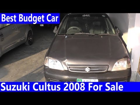 Suzuki Cultus 2008 Complete Review | Price Detailed, Specification & Features