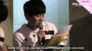 [Sub Indo] Episode BTS Letter to ARMY in Birthday Party by Seop Kiss