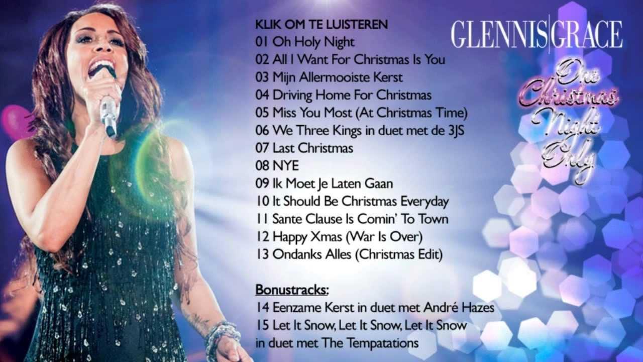 7919ce134f2072 Glennis Grace - One Christmas Night Only (Album Sampler) - YouTube