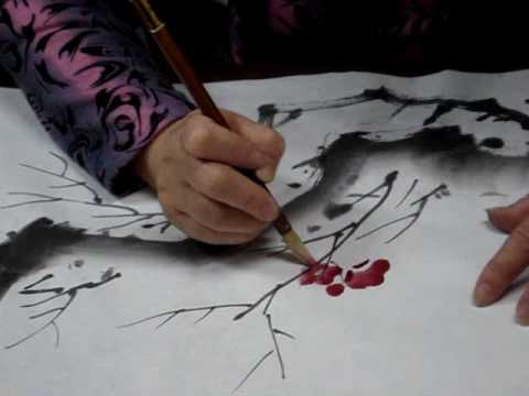 Chinese Painting -Plum Blossom for Beginners