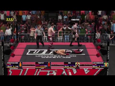 |UPW House Show| Johnathan Reid vs DDG vs Timothy vs Allen Turner