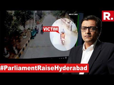 Parliament Must Raise Hyderabad Gangrape   The Debate With Arnab Goswami