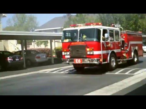Structure Fire - Irvine, California - March 24, 2013