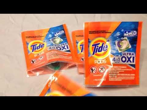 Free Tide Pods Samples Given at The Walmart Freeosk Kiosk Re: June 14 -20,  2019!