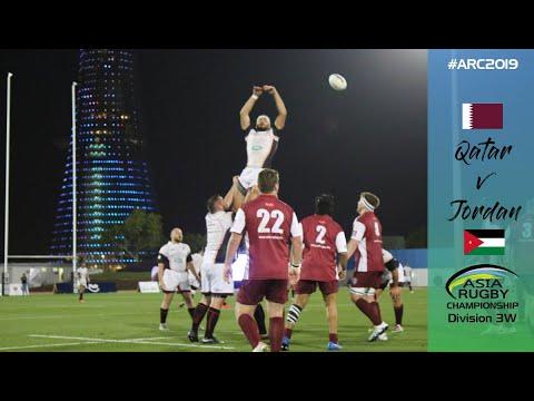 Asia Rugby Championship Div 3 West       Jordan Vs Qatar